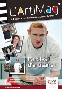 L'Arti Mag de la Chambre de Métiers et de l'Artisanat Bretagne