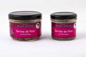 Terrine de Porc au Pommeau du Maître artisan charcutier traiteur Roland Denoual