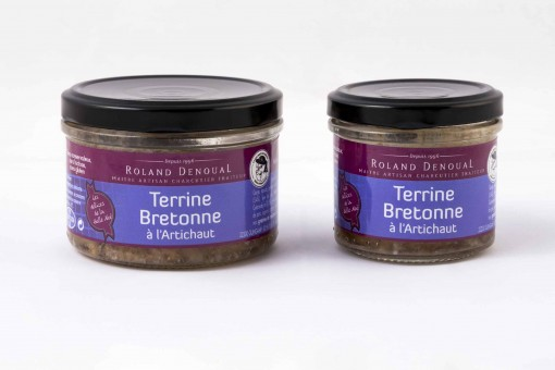 Terrine bretonne à l'artichaut
