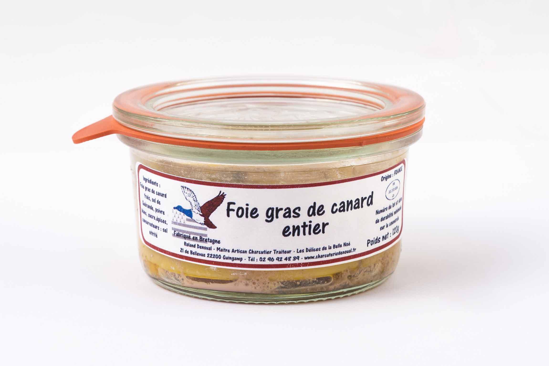 Foie gras du Maître artisan charcutier traiteur Roland Denoual