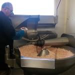 Préparation de la mêlée pour le saucisson