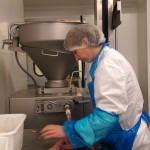Passage à la fabrication des saucisses