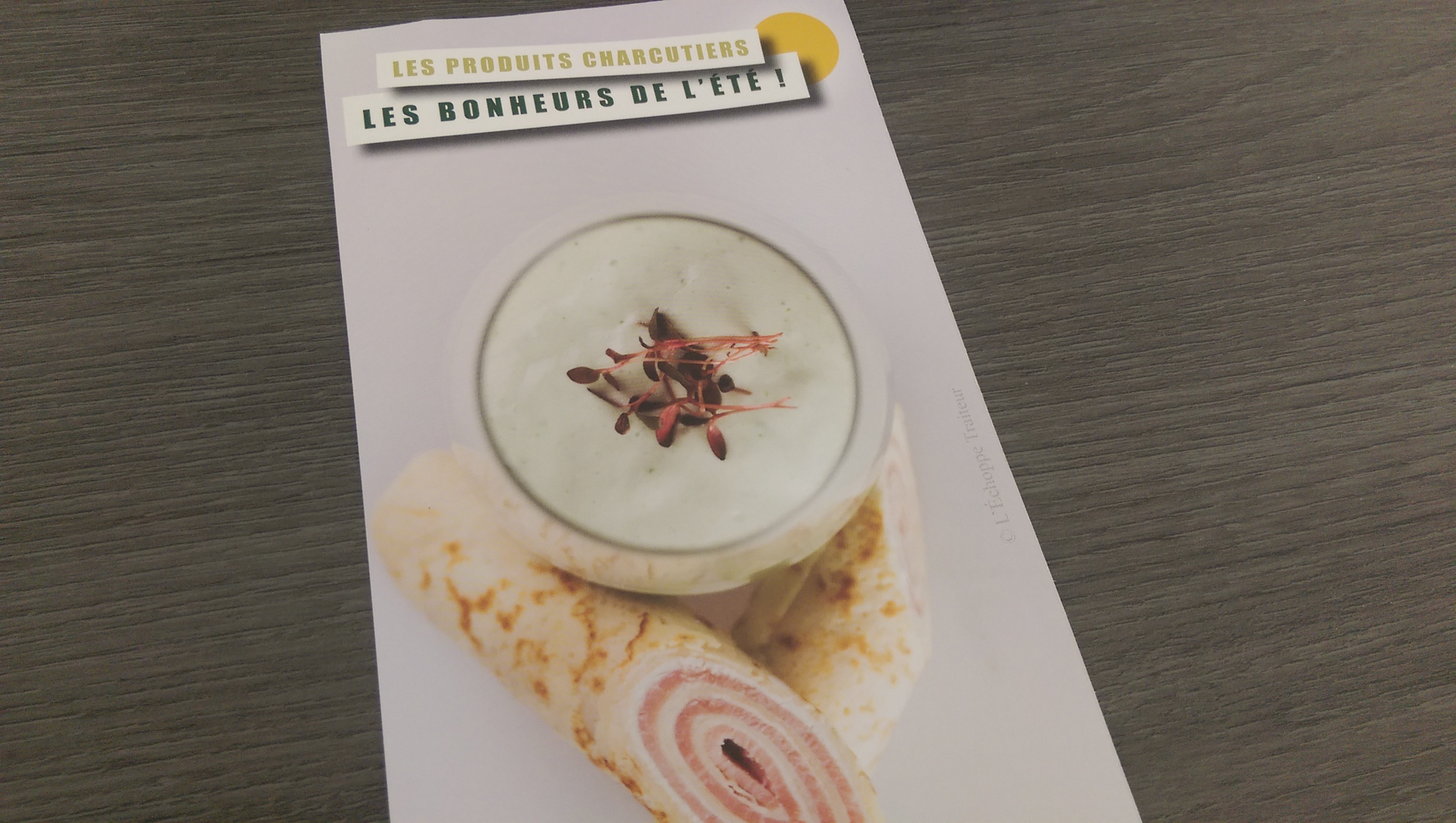 Fiche recette crêpe roulée au jambon CNCT