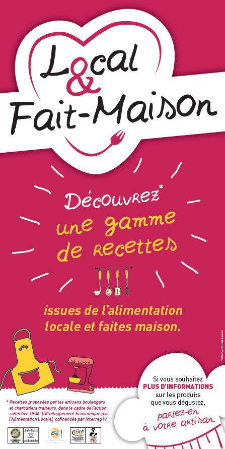 affiche local et fait-maison - Cité du goût et des Saveurs Côtes d'Armor