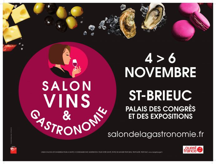 Salon des vins et de la gastronomie de saint brieuc for Salon des vins et de la gastronomie