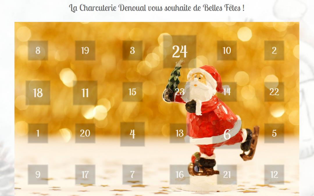 En attendant Noël … le calendrier de l'avent Denoual