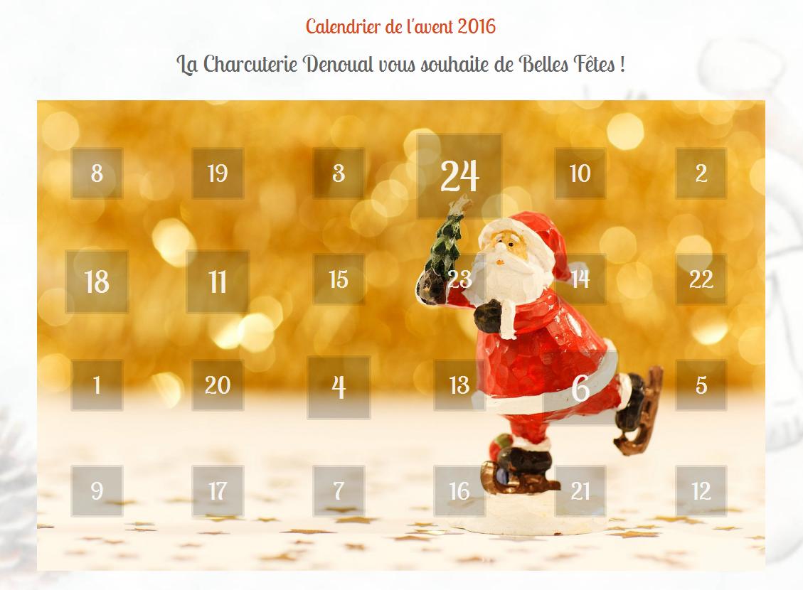 calendrier de l'avent 2016
