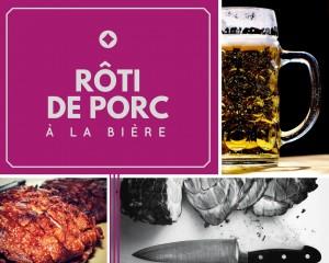 Rôti de porc à la bière