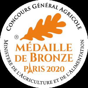 Medaille Bronze 2020 RVB